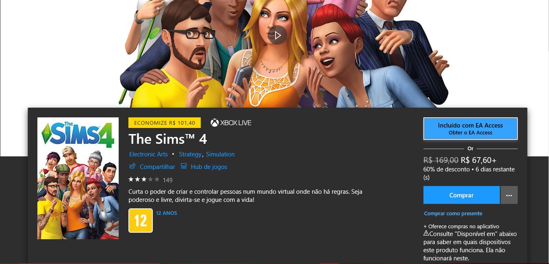 The Sims 4: Pacotes de extensão assim como o jogo estão com descontos!