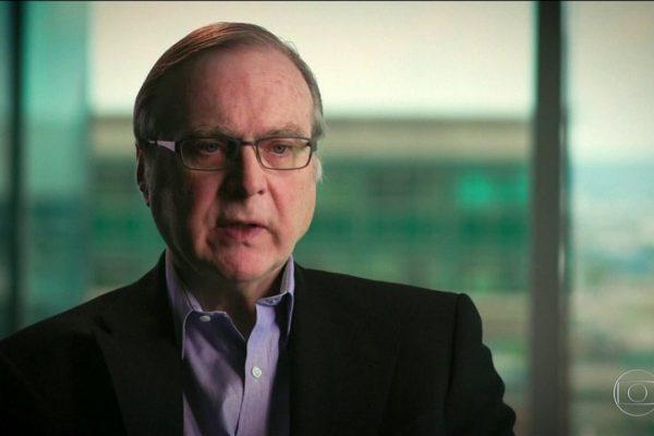Paul Allen, co-fundador da Microsoft, morre os 65 anos.