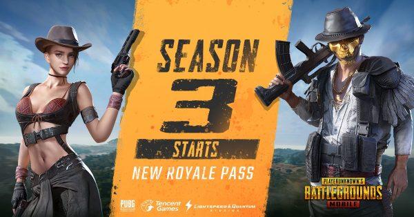 PUBG Mobile: 3° Temporada se inicia com nova arma e pequenas novidades