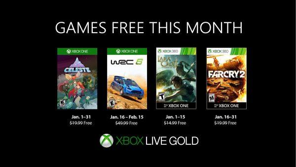 Games With Gold: Saibam os jogos que estarão disponiveis em Janeiro!