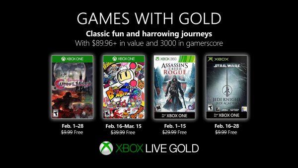 Games With Gold: Assinantes já podem baixar esses jogos!