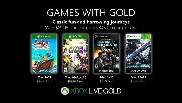 Games With Gold: Assinantes já podem baixar esses jogos na primeira quinzena de Março!