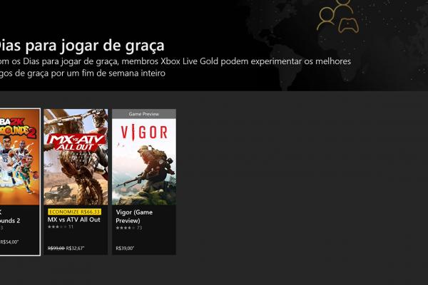 Free Plays Days: Esses são os jogos gratis para os assinantes da Xbox Live Gold
