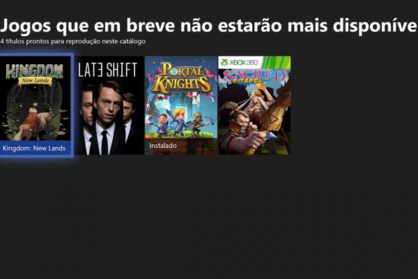 Xbox Game Pass: Esses jogos deixão o serviço hoje