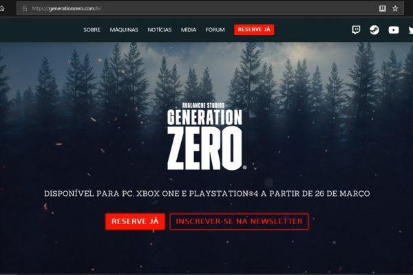 Generation Zero: Game é finalmente lançado!