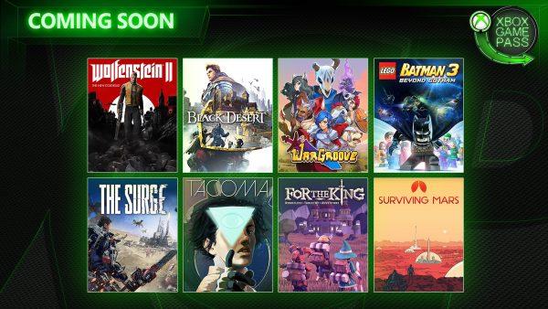 Xbox Game Pass: Oito titulos anunciados para a primeira quinzena de Maio