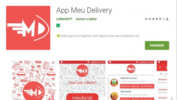 App Meu Delivery: Mais novo app para entregas no estado de Sergipe