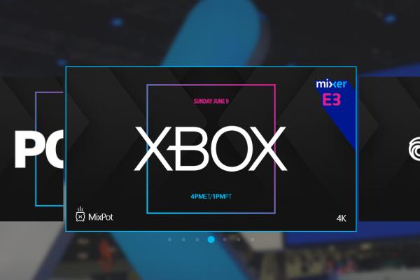 Mixer: Logo da E3 e preparativo das stream já estão em andamento!