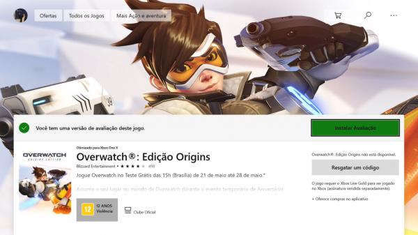 Xbox: Ultimos dias para aproveitar o Overwatch gratuitamente!