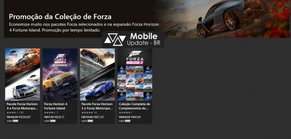 Promoção da Coleção Forza: Descontos em alguns jogos da serie!