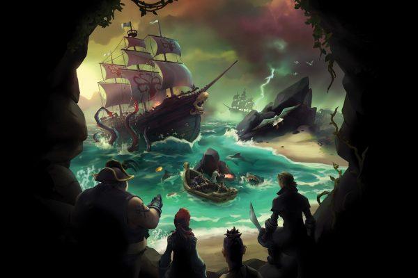 Sea Of Theives: Ganhe itens no Game assistindo o Mixer!