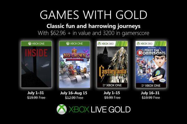 Games With Gold: Assinantes já podem baixar esses jogos na segunda quinzena de Julho!