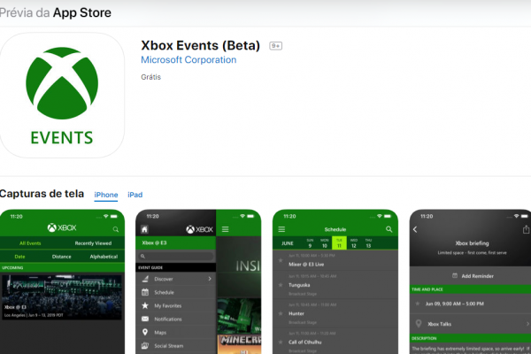 Xbox Events (Beta): App está disponivel para Android e iOS!