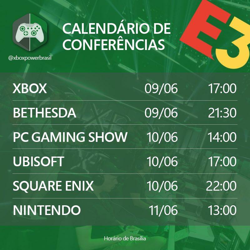 E3 Calendario.E3 Agenda 2019 Mobile Update Br