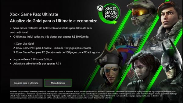 Xbox Game Pass Ultimate: Saiba os valores e o que cada um aborda!