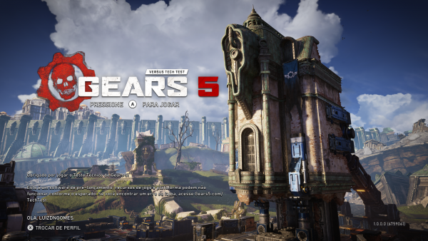 Gears 5: Segundo teste tecnico já tem data marcada!