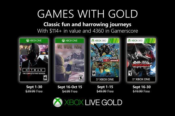 Games With Gold: Saibam os jogos que estarão disponiveis em Setembro!