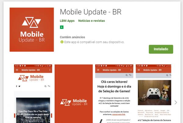 Android: Baixe já o novo aplicativo do nosso site!
