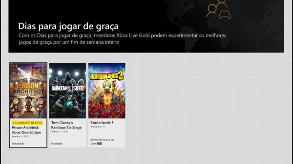 Free Play Days: Esses são os 3 jogos gratuitos para assinantes da Gold para o fim de semana!