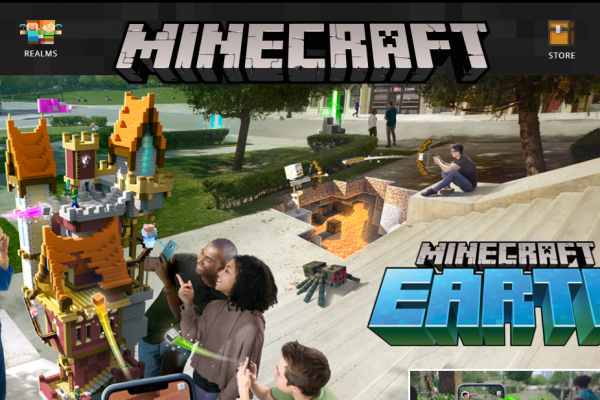 Minecraft Earth: EUA recebe suporte ao Beta do game!