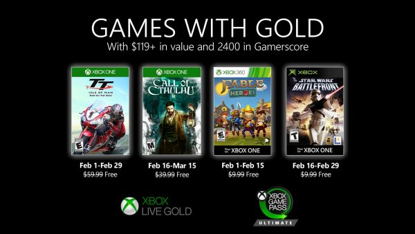 Games With Gold: Assinantes já podem baixar esses jogos na segunda quinzena de Fevereiro!