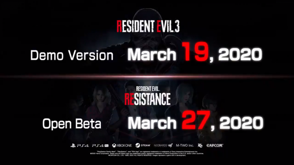 Resident Evil 3 Remake: Data da Demo anunciada!