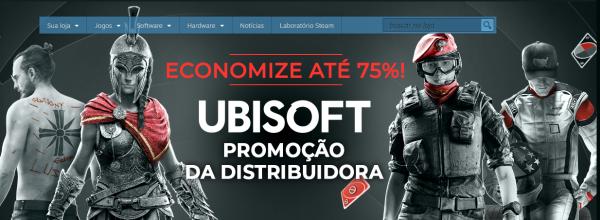#12° Seleção de descontos da Steam – Especial Games Ubisoft