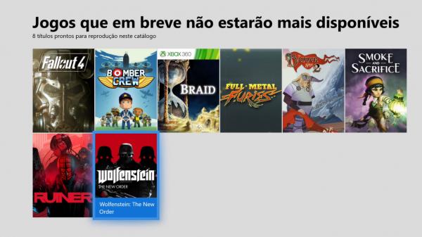 Xbox Game Pass: Esses são os jogos que deixão o serviço em 30 de Abril!