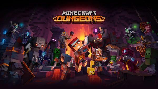 Minecraft Dungeons: Game atinge a marca de 10 milhões de jogadores!