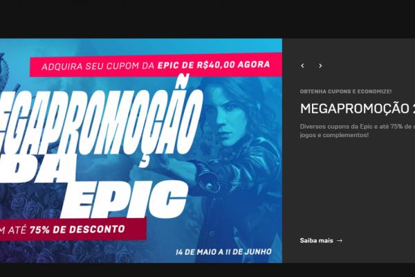 Seleção de descontos Epic Games: Megapromoção até 11/06/2020