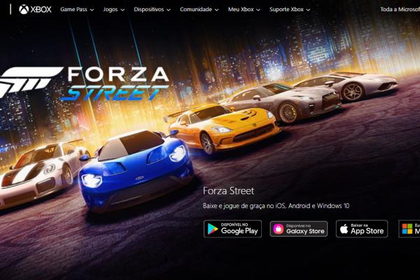 Forza Street: Game chega ao iOS e Android!