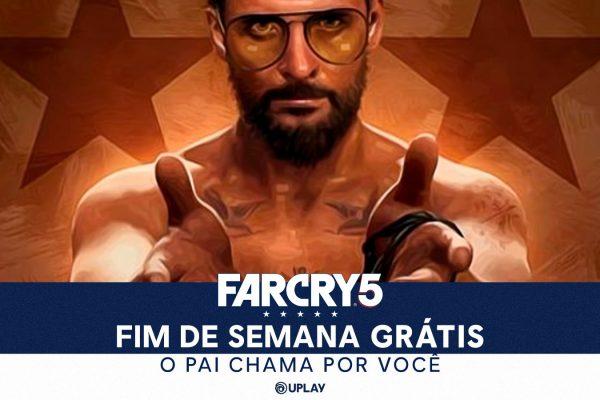 Free Ubisoft Days: Far Cry 5 está gratuito até dia 31 de Maio para PC!
