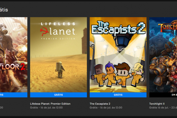 Epic Games: Baixe esses três games de graça!
