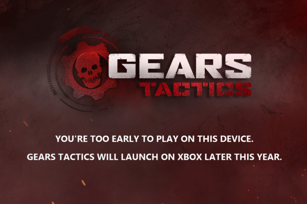 Gears Tactics: Pre download já está disponivel no Xbox One!