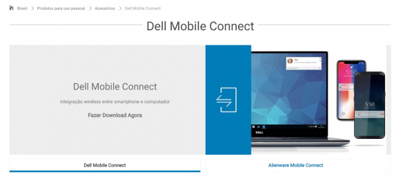 Dell Mobile Connect: Acesse seu celular utilizando seu PC Dell!