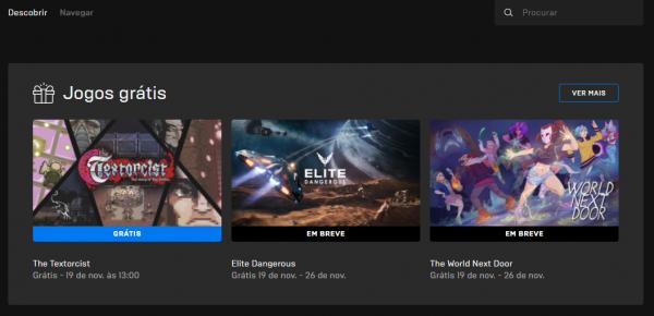 Free Play Epic Games: Jogos Grátis dessa semana!