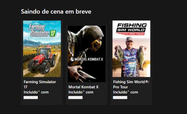 Xbox Game Pass: Esses são os jogos que deixão o serviço em breve