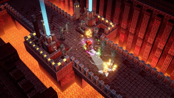 Minecraft Dungeons: DLC Chamas do Nether chega ao game!