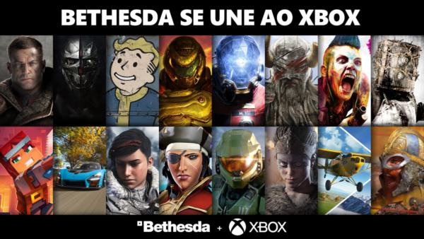 #XboxGamePass: Esses são os jogos que chegaram ao serviço junto a Bethesda!