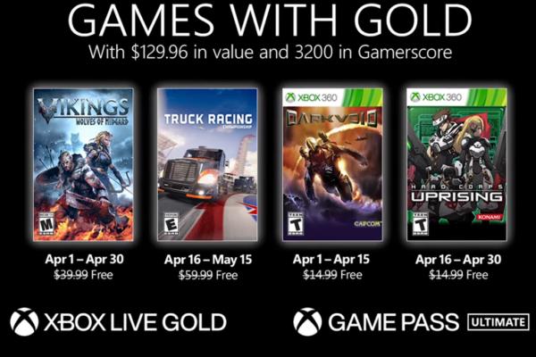 #GamesWithGold: Saibam os jogos que estarão disponíveis em #Abril2021!