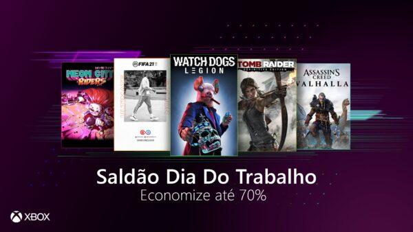 Seleção de descontos da Microsoft Store #SaldãoDiaDoTrabalho