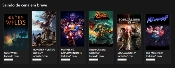 #XboxGamePass: Esses são os jogos que deixarão o serviço em breve!