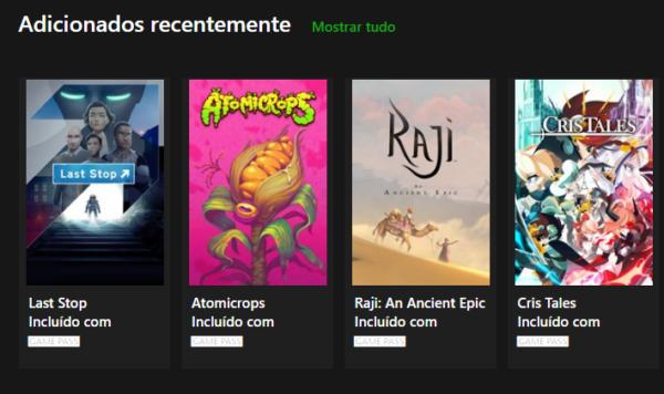 #XboxGamePass: Esses são os jogos que chegaram ao serviço!
