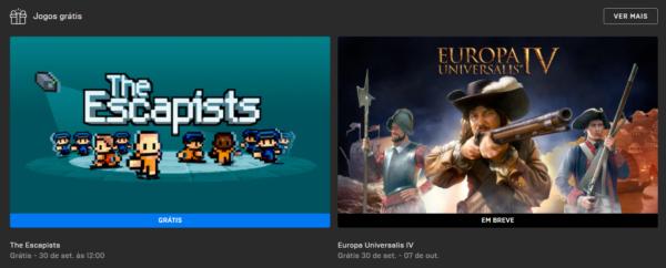 #FreePlayEpicGames: Jogos Grátis dessa semana!